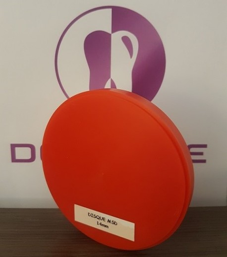 DISQUE CIRE PREMIUM MSD ORANGE