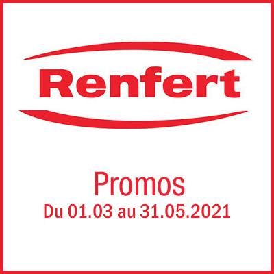 Offre Printemps Renfert valable jusqu'au 31 mai 2021