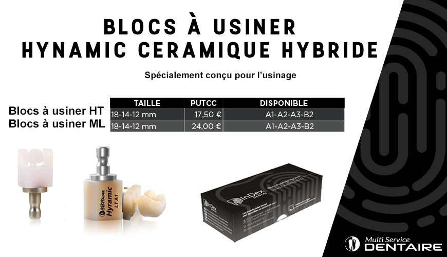 Bloc à usiner Hynamic Ceramic