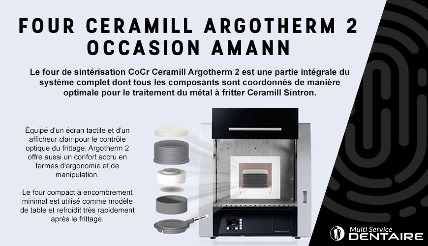 Four Ceramill Argotherm