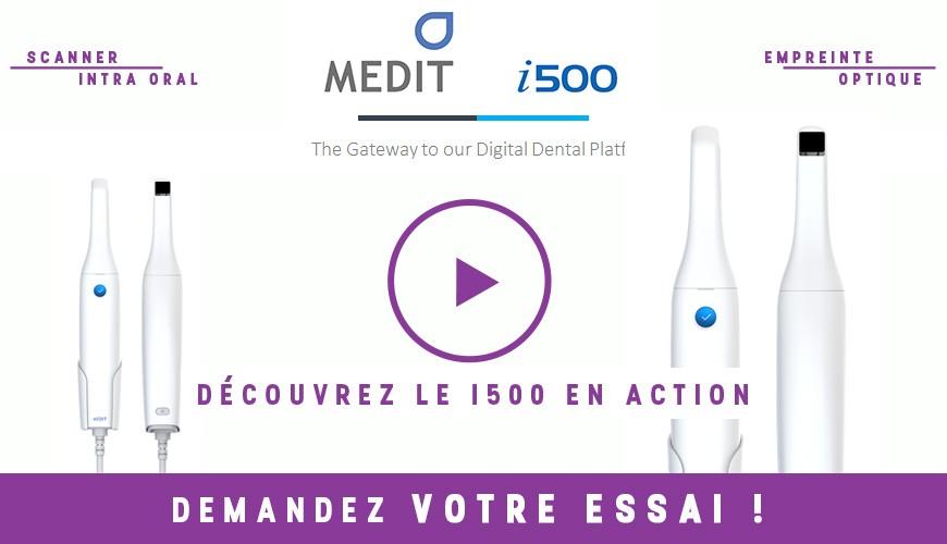 Medit i500 in use